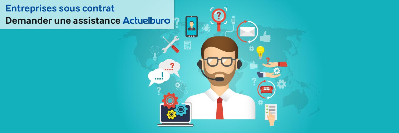 Entreprises sous contrat avec Actuelburo