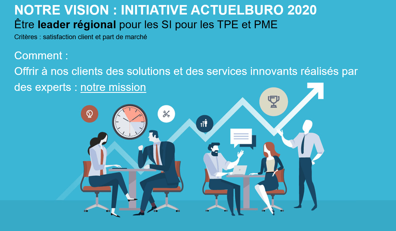 vision Actuelburo 2020 leader IT
