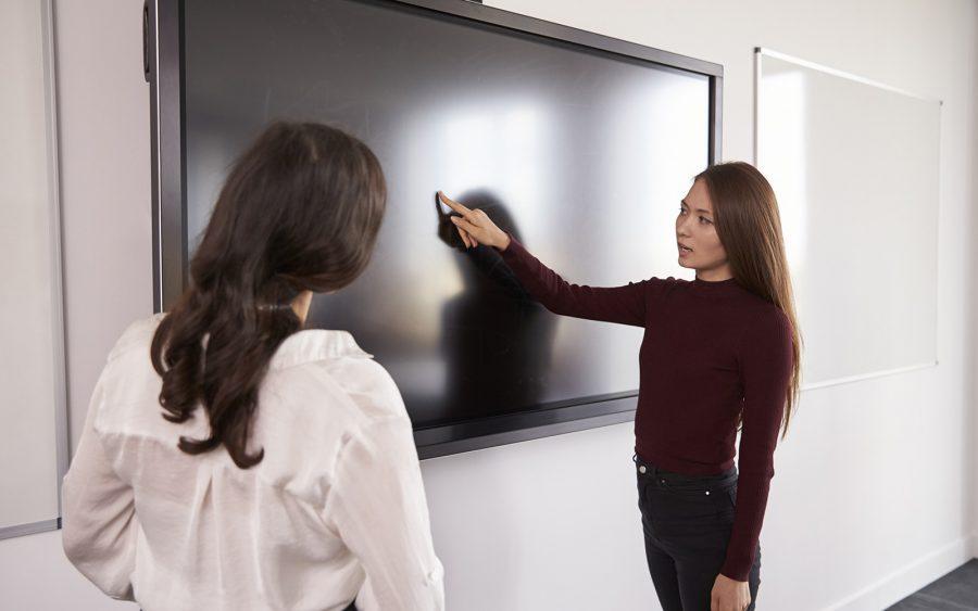 Ecran interactif à Pau