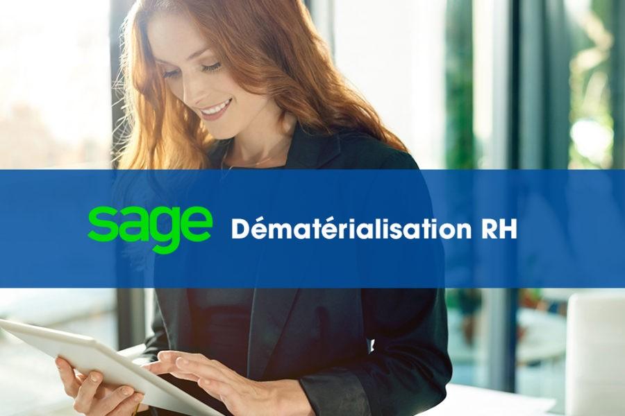 Sage Dématérialisation RH