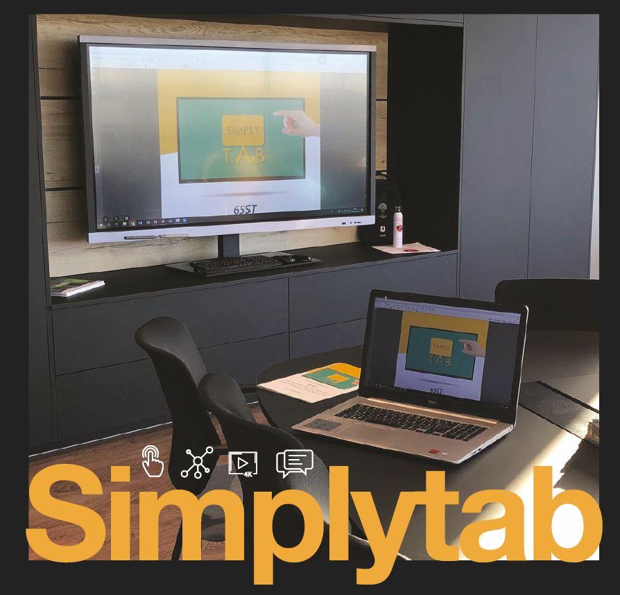 Ecran interactif Simplytab