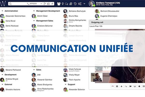 Communication unifiée téléphonie d'entreprise