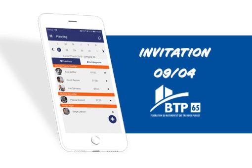 Image à la une de l'article d'invitation à la fédération du BTP 65
